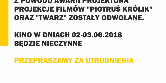 W Ten Weekend Kino Nieczynne